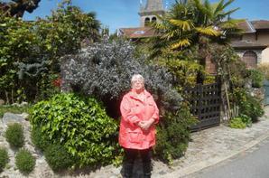 promenade hier à Messery et Nernier sous un beau soleil   !!!