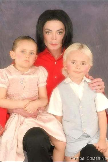 Michael J and Prince and Paris Love