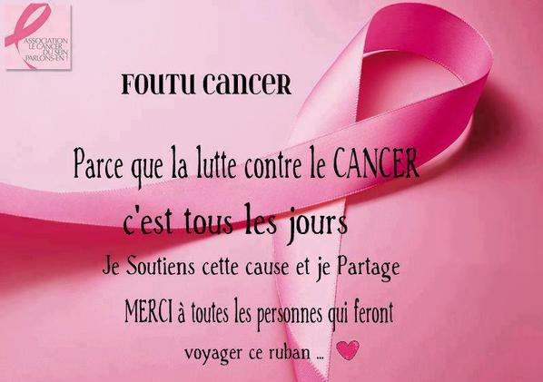 Luttons contre le cancer !:(
