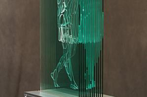 """Windows Into Souls-Architectural  Glass Sculptures""-Jed Malitz"