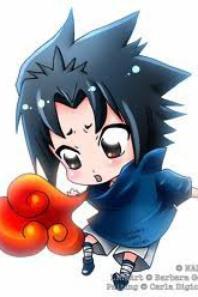 Sasuke en chibi