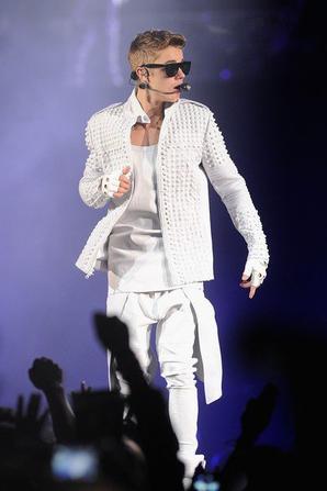 Le concert de Justin  à Brooklyn