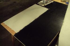 avancement du cpi passage lulli : mise en peinture