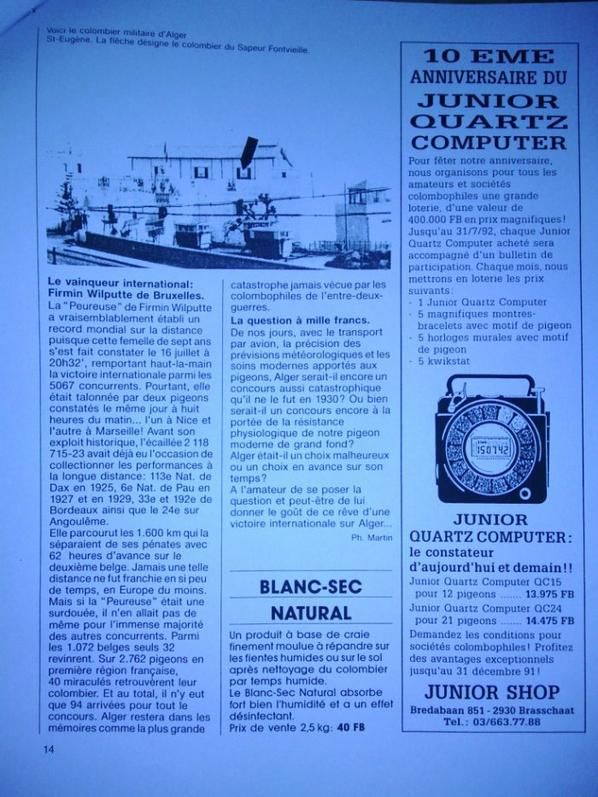Concours Alger en 1930 - 1600 km