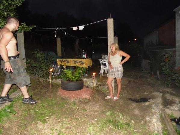 petite soiree au jardin