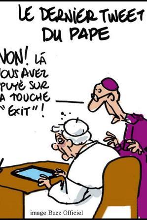 le pape démissionne