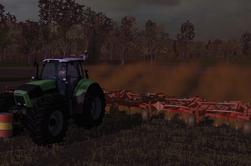 début de la préparation du sol