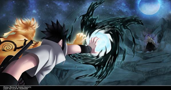 Naruto x Sasuke : Aka Shakuton: Kourin Shippu