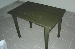 dernières rentrées: table pliante US