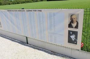Inauguration d'une stèle d'un ancien cimetière américain ww2 en Sarthe -2-