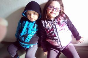 mon fils hamda et ma fille lorianne