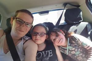 moi ma fille et ma niéce