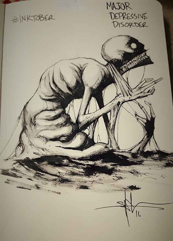 Schizophrénie Paranoide & Dépression...