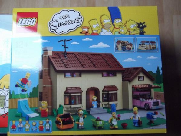 Ma nouvelle aquisitions maison lego simpsons