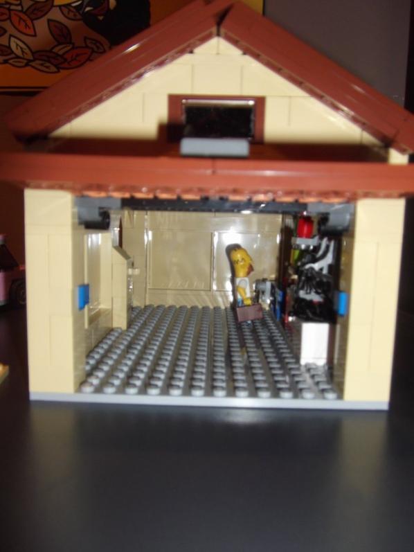 Voici le garage monté