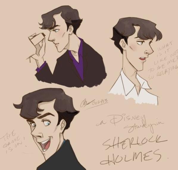 Voilà ce que ça pourrait donner si Disney adaptait Sherlock