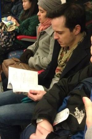 dans le metro londonnien