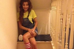 Eleanor à l'anniversaire d'une amie il y a pas longtemps