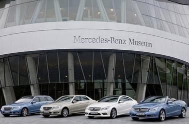 Musée Mercedes-Benz de Stuttgart .