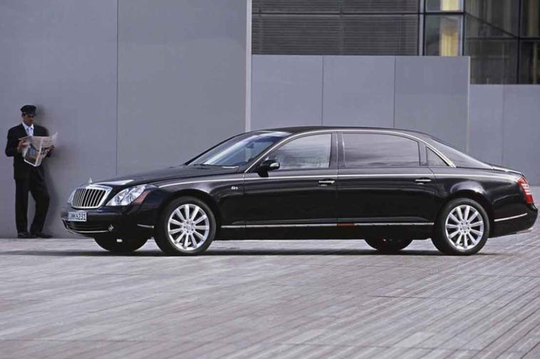 Mercedes : bientôt une gamme Maybach .