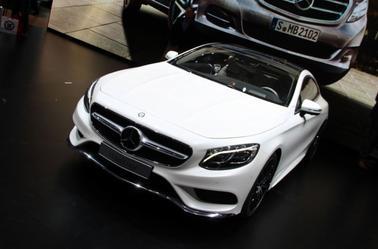 Mercedes Classe S coupé .