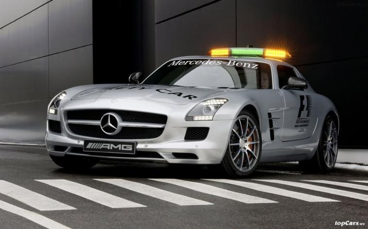 SLS AMG GT : F1 Safety Car