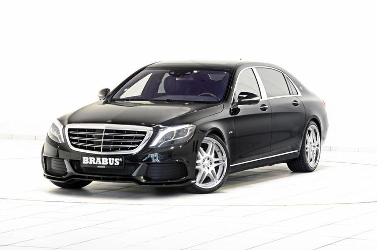 Mercedes-Maybach S600 par Brabus
