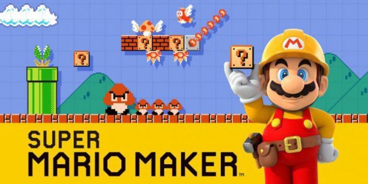 Le GLA Mercedes dans Super Mario Maker .