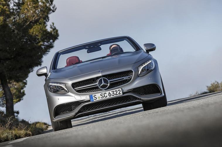 Mercedes Classe S cabriolet 63 AMG : les photos