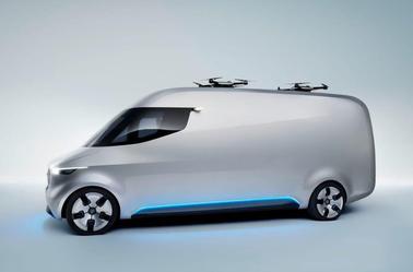 Mercedes : ses utilitaires seront électriques et autonomes.