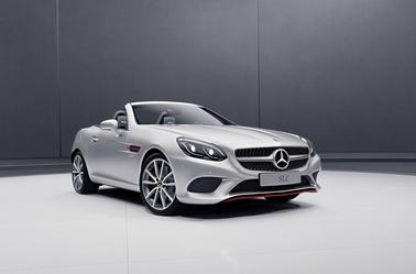 Mercedes SL designo Edition et SLC RedArt Edition