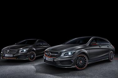 Yellow Night Edition pour les Classe A 45 AMG et CLA 45 AMG