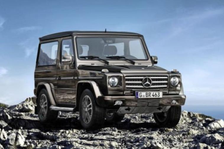 Le Mercedes Classe G s'apprête à tirer sa révérence .