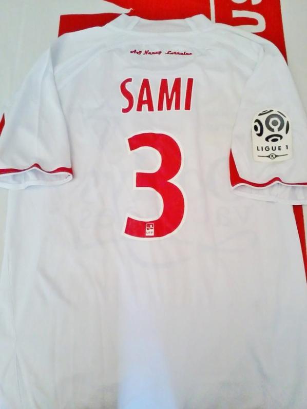 Maillot Joel Sami Saison 2009-2010