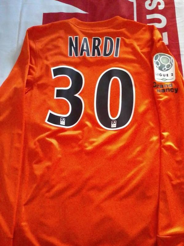 Maillot Nardi Porté 2014-2015