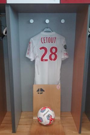 Maillot Cétout - Nancy-Ajaccio - Saison 2015-16