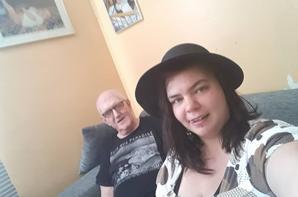 moi et ma mamy et mon parrain