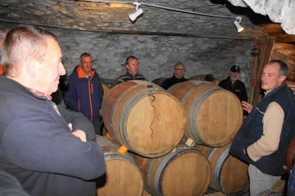 visite de la vinaigrerie de Sylvain Petit à AIZAC