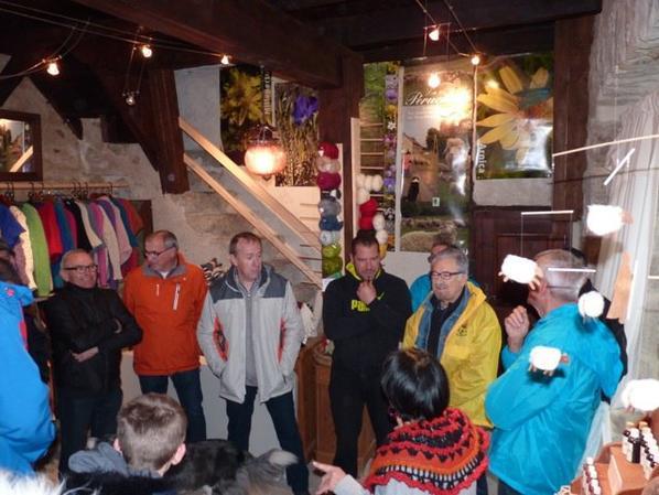 visite de la Perruchelle, boutique de laine de brebis du plateau ardéchois