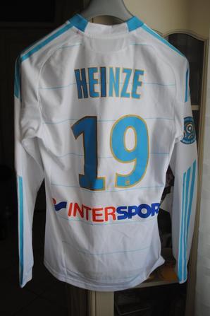 MAILLOT OM PORTE PAR HEINZE SAISON 2010/2011