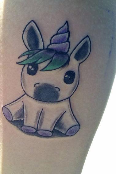 Nouveau tatoo !!! Avant et après ;)