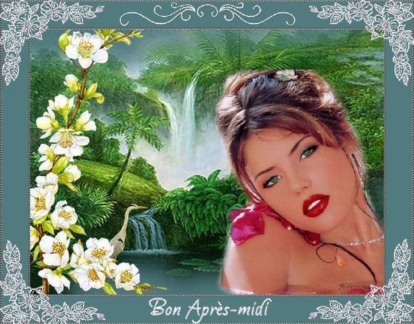 BON APRES MIDI A VOUS TOUS ET TOUTES....BISOUS A MES AMI(E)S.... !!!