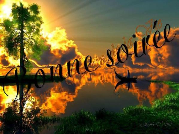 BONNE SOIREE ET DOUCE NUIT A VOUS TOUS ET TOUTES...BISOUSSS.... !!!!