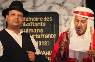 spectacle de theatre bouaraaraعرض مسرحي بوعرعارة