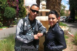 con la duha en marrakech