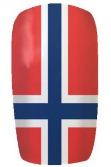ongles avec drapeaux.