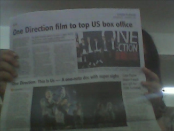 one direction cove the news
