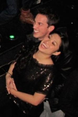 Jenna Ushkowitz et Michael Trevino