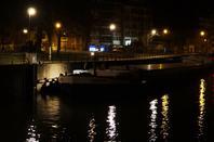 Saint Honorine, la fête des bateliers  ;)  - En 1ère ce 27 février 2014, KIRSTEN (NL) Kaprijke, chargé de 1253t. d'engrais (enf.2,47 m.) de Moerdijk à Heer-Agimont