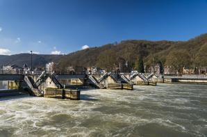 Extrait du travail réalisé par Emmanuel Manderlier, photographe en mission pour la DGO2 au barrage-écluse de La Plante    ;)
